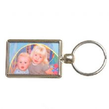 Double-Sided Coloured Photo Keyring - Ideal personalised Father's Day or Mother's Day Gift